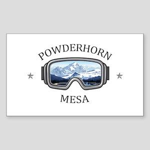Powderhorn Resort - Mesa - Colorado Sticker