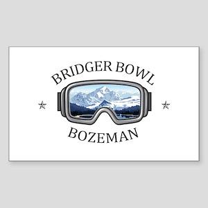 Bridger Bowl - Bozeman - Montana Sticker