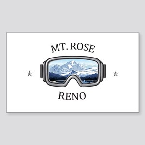 Mt. Rose - Reno - Nevada Sticker