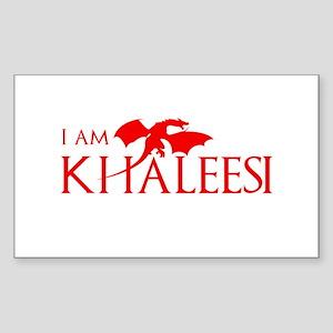 I am Khaleesi Sticker