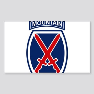 10th Mountain Division Sticker