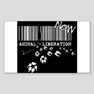 Animal Liberation Now - Until Every Cage i Sticker