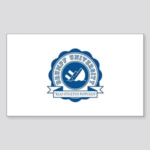 Drumpf University Sticker