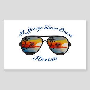 Florida - St. George Island Beach Sticker