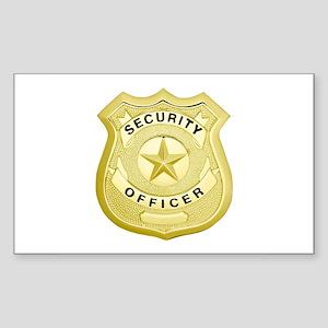 Security Officer Sticker
