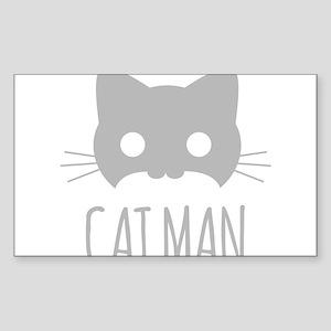 Cat Man Sticker