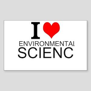 I Love Environmental Science Sticker