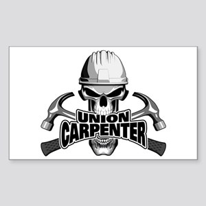 Union Carpenter Skull Sticker
