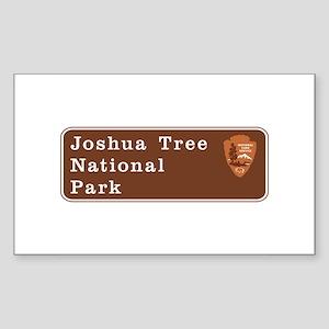 Joshua Tree National Park, Cal Sticker (Rectangle)