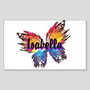 Personalize Butterfly Sticker