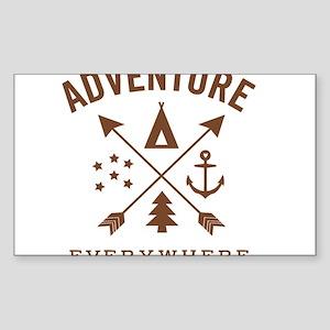 ADVENTURE EVERYWHERE Sticker
