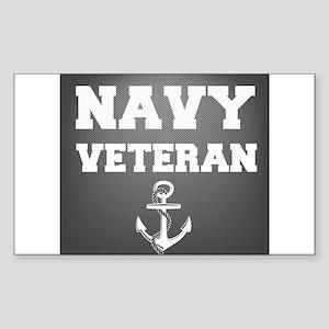 Navy Veteran Sticker