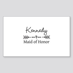 Bridal Party Personalized Sticker