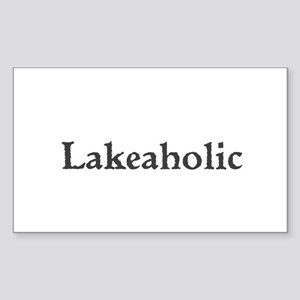 Lakeaholic Sticker