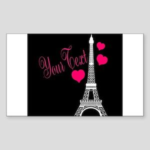 Paris France Eiffel Tower Sticker