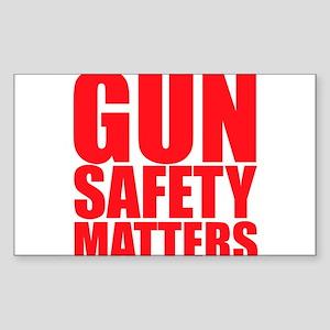 Gun Safety Matters Sticker