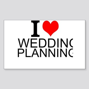I Love Wedding Planning Sticker