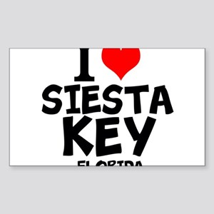 I Love Siesta Key, Florida Sticker