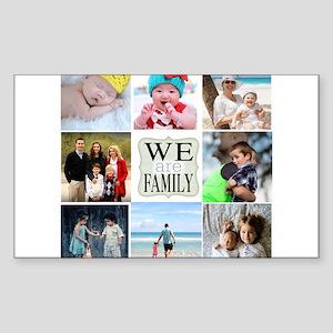 Custom Family Photo Collage Sticker
