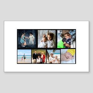 7 Photo Family Collage Sticker