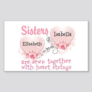 Personalize Sisters/Best Friends Sticker