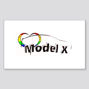 Model X Pride Sticker