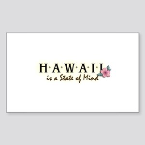 Hawaii Rectangle Sticker