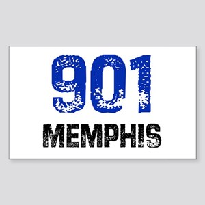 901 Rectangle Sticker