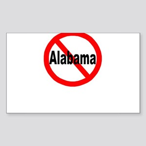 alabama Sticker (Rectangle)
