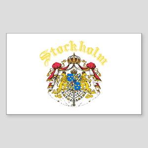 Stockholm, Sweden Rectangle Sticker