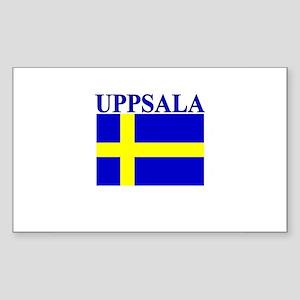 Uppsala, Sweden Rectangle Sticker
