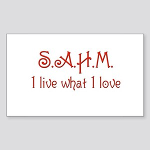 sahm 8 Rectangle Sticker