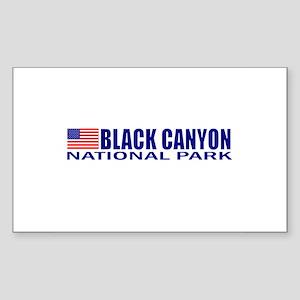 Black Canyon National Park Rectangle Sticker