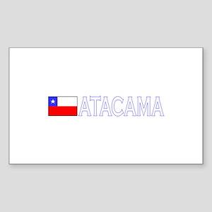 Atacama, Chile Rectangle Sticker