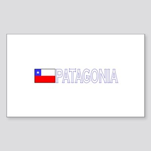 Patagonia, Chile Rectangle Sticker