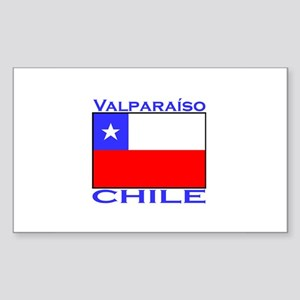 Valparaiso, Chile Rectangle Sticker