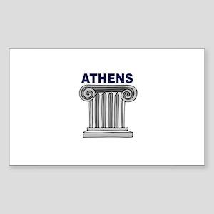 Athens, Greece Rectangle Sticker