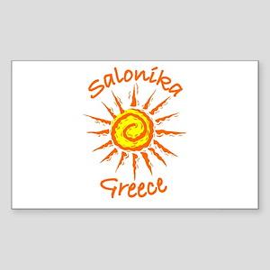 Salonika, Greece Rectangle Sticker