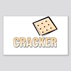 Cracker Rectangle Sticker
