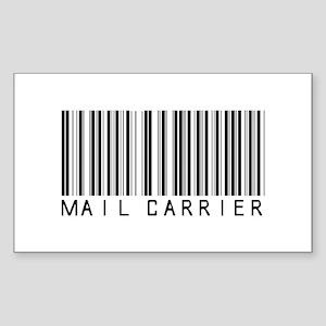 Mail Carrier Barcode Rectangle Sticker