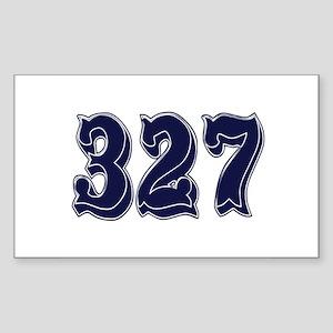 327 Rectangle Sticker