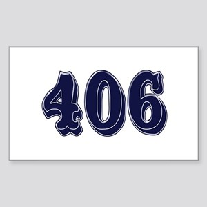 406 Rectangle Sticker