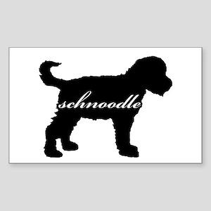 Schnoodle DESIGN Rectangle Sticker