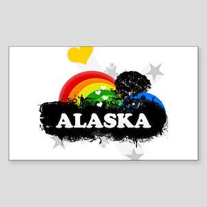 Sweet Fruity Alaska Rectangle Sticker