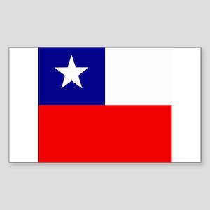 Chilean Rectangle Sticker