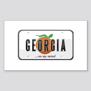 Georgia Sticker (Rectangle)