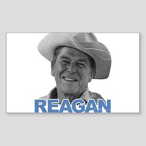 Reagan 1980 Election Rectangle Sticker