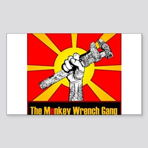 The Monkey Wrench Gang Sticker (Rectangle)