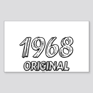 Mustang 1968 Sticker (Rectangle)