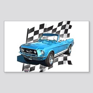 Mustang 1967 Rectangle Sticker